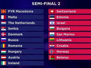 Semi Final 2 - Who is going to qualify?