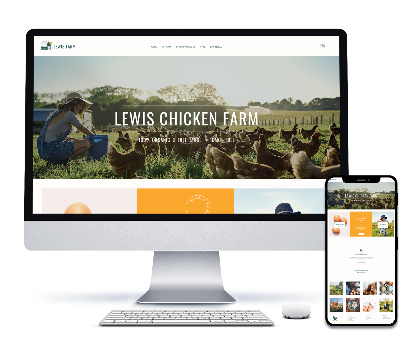 LEWIS CHICKEN FARM