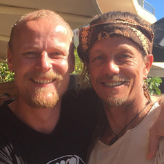 Luke and Gwyn (founder Zenthai)