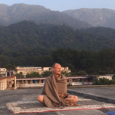 Post Meditation, Rishikesh.