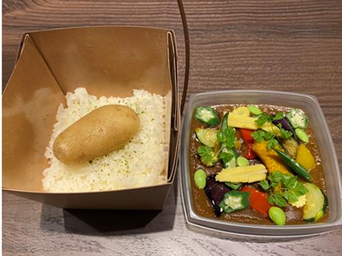 [M1](月・水・金)夏野菜と国産ビーフカレー