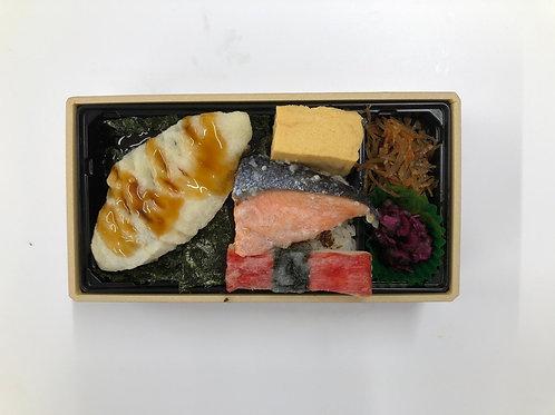 [J1](月・水・金)海苔だんだん弁当(8月末までの特売価格!)