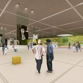 [졸업설계] 이연주 | 지하철 역사 유휴공간의 활용에 관한 연구 : 홍대입구역 문화공간 계획안