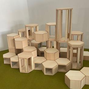[건축설계(2) 1차] 권민경   HEXA-REST