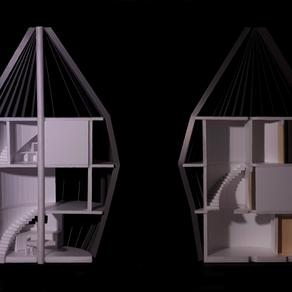 [건축설계(2) 2차] 임하진 | Sunny Night House