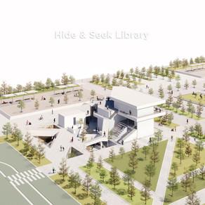 [실내건축설계(1)] 김보람 | Hide & Seek Library :숨겨진 다양한 공간을 만나는, 산책하는 도서관 Hide & Seek Library