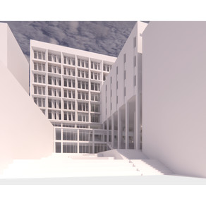 [건축설계(6)] 호영훈 | 홍익대학교 중앙도서관 리노베이션 (Hongik Univ. Library Renovation)
