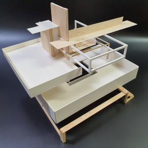 [건축설계(1)] 김주훈 | 낙수장 재해석 하이브리드 큐브