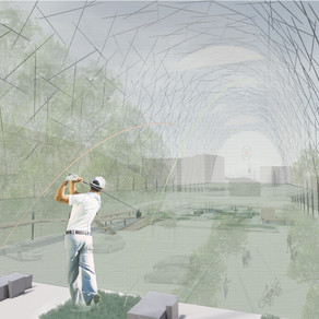 [졸업설계] 오주향 | 필드스포츠의 건축공간화에 대한 연구 : Tensegrity를 활용한 실외골프연습장