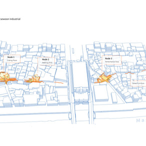 [건축설계(7)] 한지은   444 project : 4olly of 4our nodes, 4or sewoon industrial axis