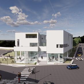 [건축설계(4)] 유보람 | LIVE – RARY ; 도서관 단지 초입의 복합 문화 커뮤니티 센터
