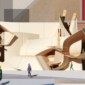 [실내건축설계(3)] 조한슬 | Moncler Primal Boutique