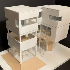 [건축설계(2) 2차] 김보민 | Courtyard House