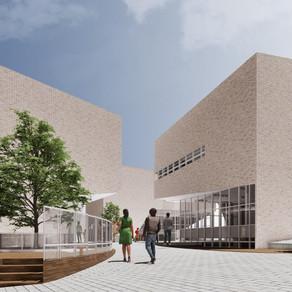[건축설계(4)] 윤은주 | 나무 아래 _ 그늘 아래 정을 나누는 주민센터