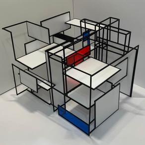 [건축설계(1)] 강지우 | schroder house 하이브리드 큐브