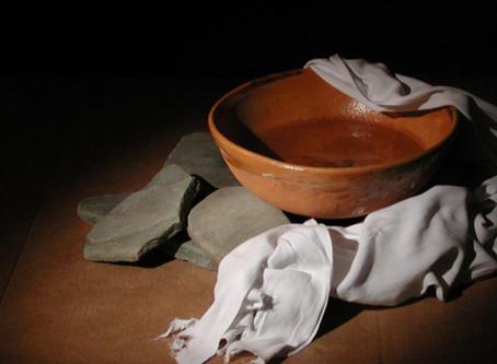 Dusty Feet, Betrayal and the Heartbeat of Jesus.