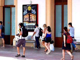 Redbar Vilanova a l'estació de Vilanova i la Geltrú
