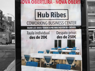 Coworking Business Center, entra dins del circuit comarcal de mupis.