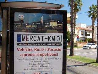 Mercat del KM0 dins el circuit de mupis de Publicom