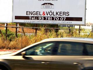 Engel&Wölkers a l'entrada de Vilanova