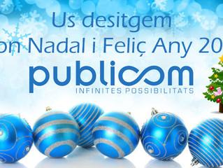 Publicom us desitja Bon Nadal i un Feliç Any Nou.
