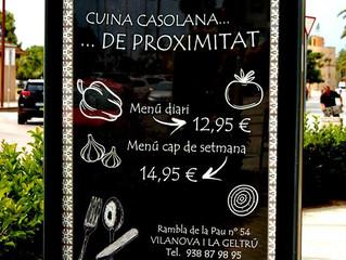 Cal Nuet i la seva cuina cassolana a Vilanova i la Geltrú