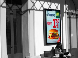McDonald's a l'estació de Vilanova i la Geltrú.