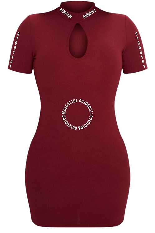 Loving It® Clothing - Ladies ME ME ME Embroidered Dress