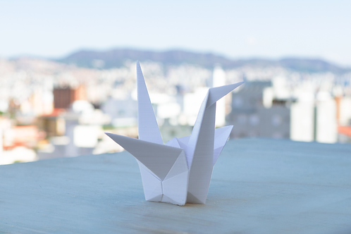 Tsuru Origami 3D