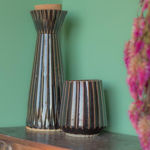 Moringa de cerâmica