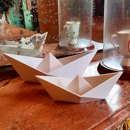 Barquinho Origami