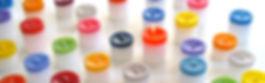 bougies multicolores Colortop collection