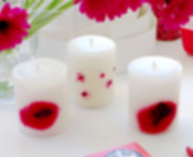 poppies candles 2nd world war