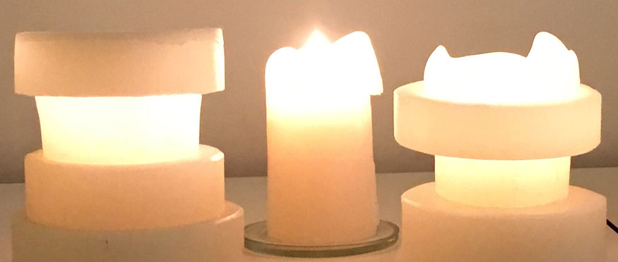 before your light ,  candles tips