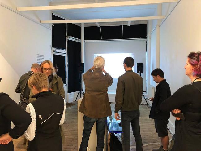 Motion Sensor Live Brief, final exhibition at Onca Gallery
