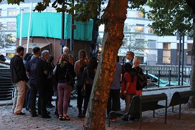Workshop at Museum of Docklands, London