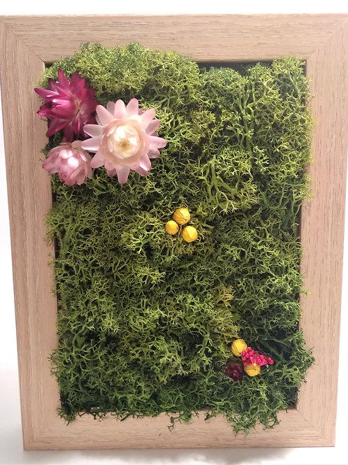 Cadre végétal 18x13cm