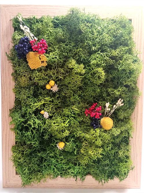 Cadre végétal 24x18cm