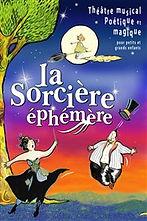 Anthony Fabien joué le rôle de Jean Frèdérique Dutroc dans le spectacle musical La Sorcière Ephémère