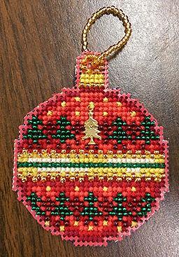Mill Hill Beaded Ornament