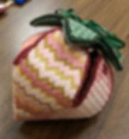 Three Dimensional Canvas Strawberry