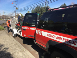 San Jose Search and Rescue Vehicles
