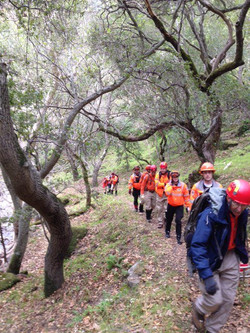San Jose Search and Rescue Hiking