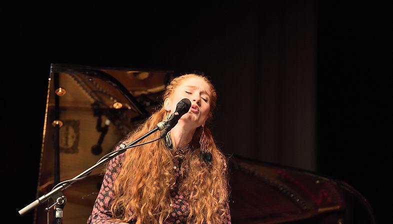 Singing redhead