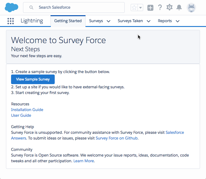 Survey Force