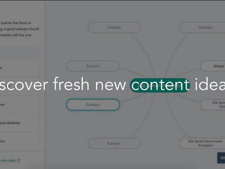 Get SEO-savvy with this brand new content strategy