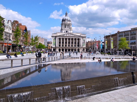 Nottingham's been voted the third best place to work in the UK!