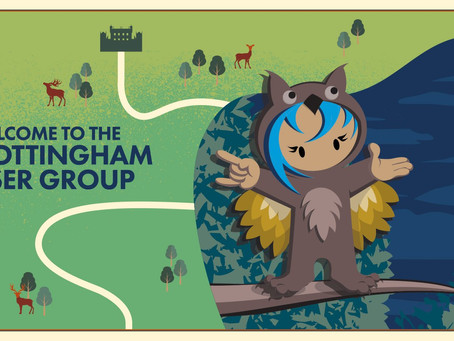 Events happening this month: Nottingham's Salesforce user group meetup