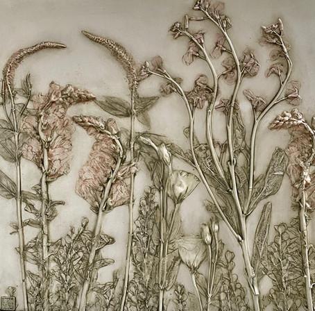 Reverence: Celosia, Lisianthus, Stock, Snapdragon, Boxwood