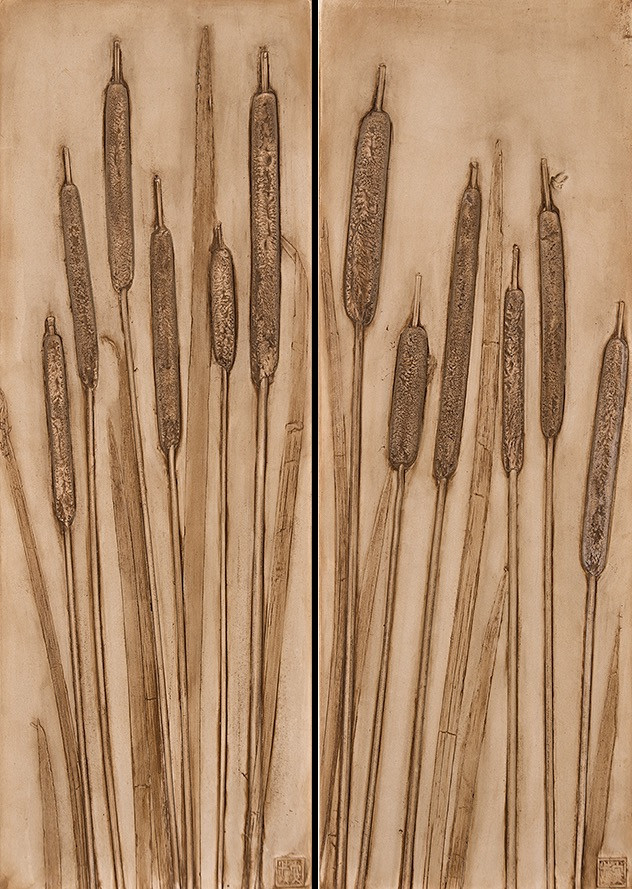Of Letting Go: Cattails